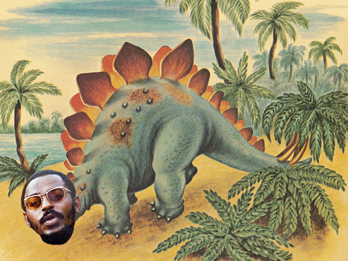 Dinosaur in the Wilderness